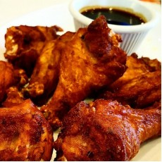 Chicken wings (8)